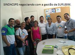 SINDACS PE negociando com a gestão de Surubim/PE