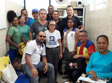 FENASCE visita unidade de saúde em Recife/PE