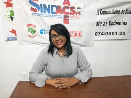 Diretora do SINDACS PE participa de Eleição no Conselho Estadual de Saúde