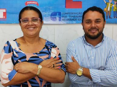 Presidente do SINDACS PE Graciliano Gama participa de live (29) com a diretora de comunicação e divu