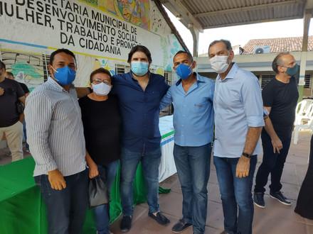 SINDACS-PE acompanha entrega de fardamentos em São Lourenço da Mata