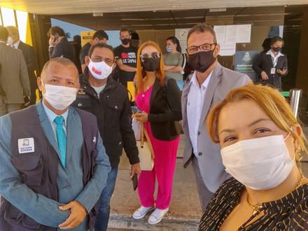 O SINDACS-PE e a FENASCE está mais uma vez em atividade em Brasília-DF