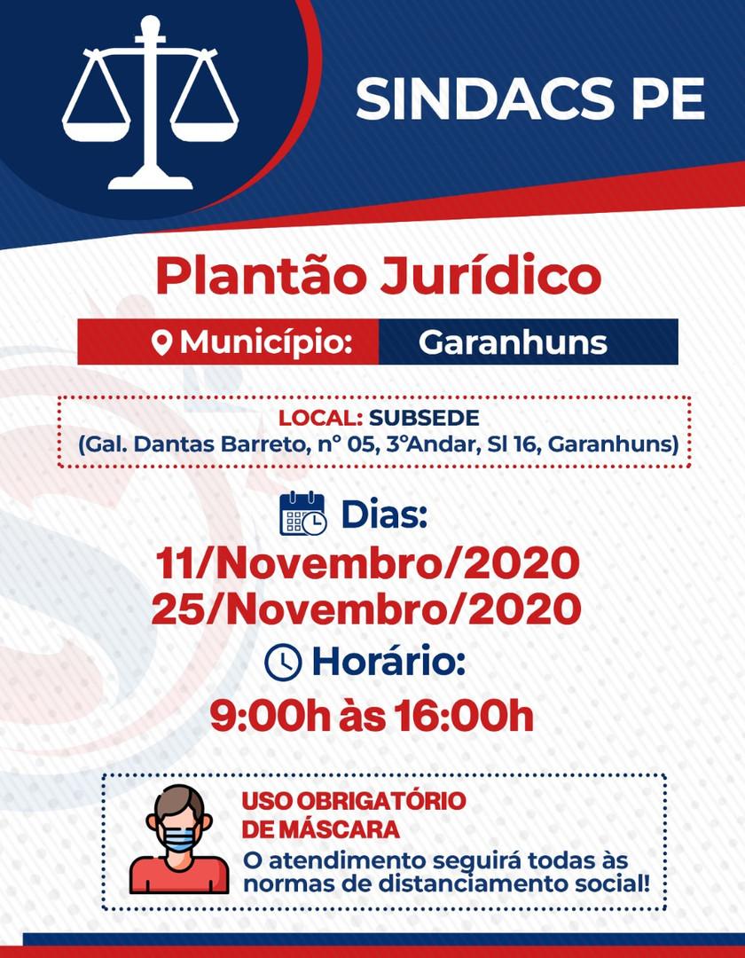 GARANHUNS - 11 E 25 NOVEMBRO