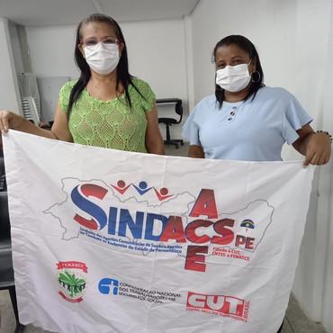 Diretoras do SINDACS PE tomam posse no Conselho Municipal de Saúde do Paulista