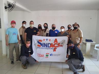 Diretores do SINDACS PE participam de reunião no município de Tabira
