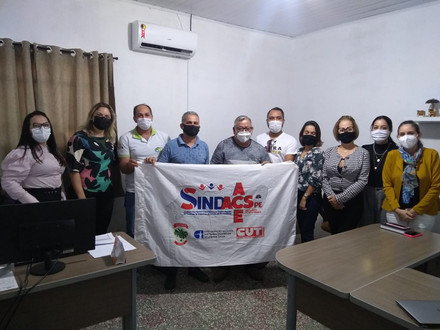 Sindacs-PE participa de reunião no município de Barra de Guabiraba