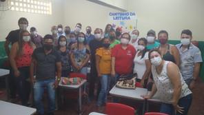 Diretores do SINDACS PE visitam município de Palmeirinha