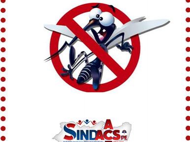 O SINDACS/PE Parabeniza a todos e todas ACEs pelo empenho na redução de casos de arboviroses em noss