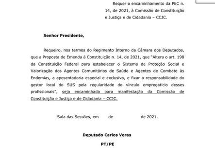 SINDACS-PE e FENASCE atuando pela PEC 14