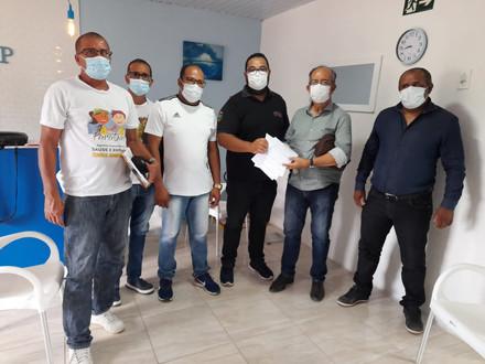 Diretor do SINDACS-PE participa de reunião em Gameleira