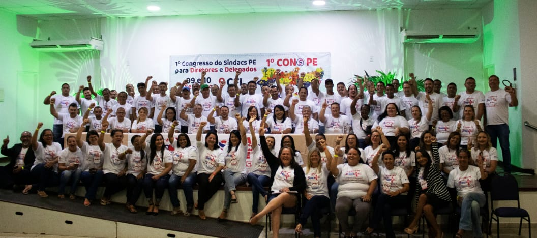 CONSPE - 1º Congresso do Sindacs PE