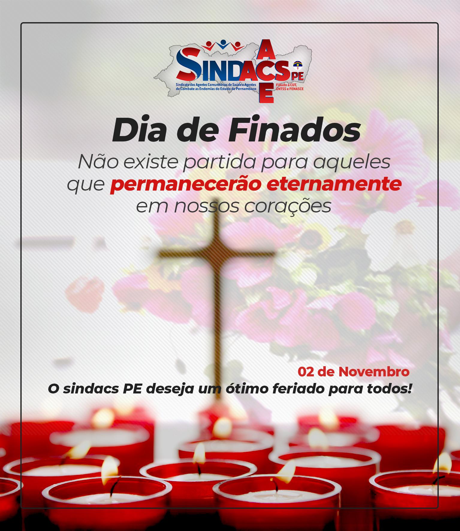 FINADOS 2 DE NOVEMBRO
