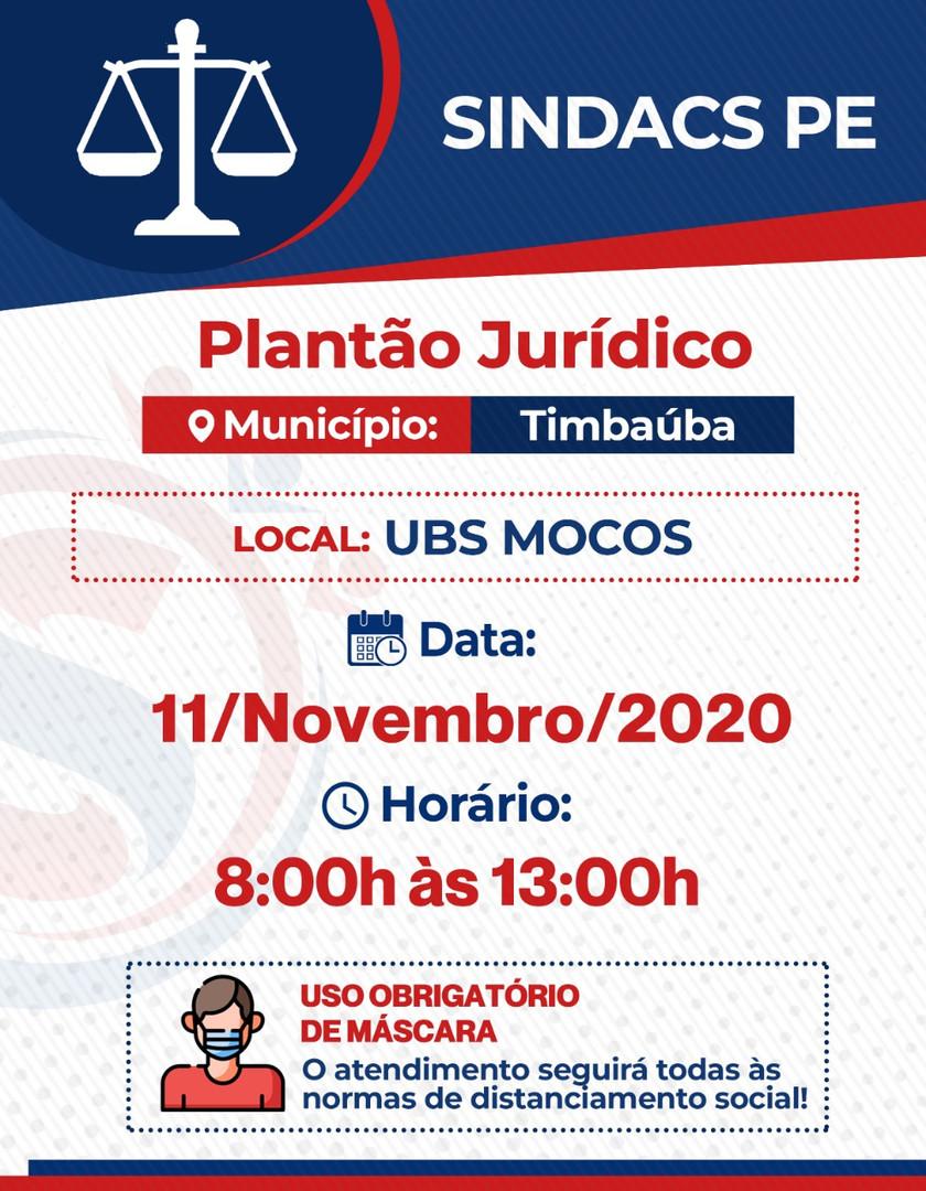 TIMBAUBA - 11 NOVEMBRO