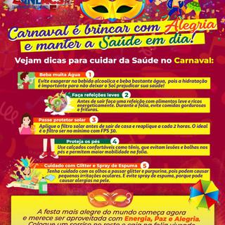 Dicas de Carnaval sindacs 2020