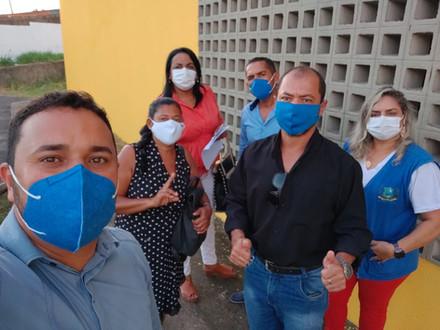 SINDACS PE acompanha reunião em São Lourenço da Mata