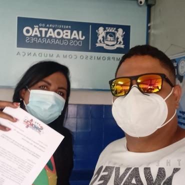 SINDACS PE inicia a entrega do ofício da Campanha Salarial 2021 em Jaboatão