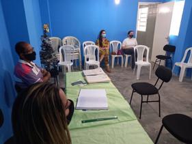 Diretora do SINDACS PE acompanha eleição  do Conselho Municipal de Saúde em Paulista