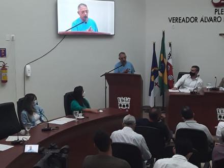 SINDACS PE participa de uma audiência pública na Câmara de Vereadores de Garanhuns/PE
