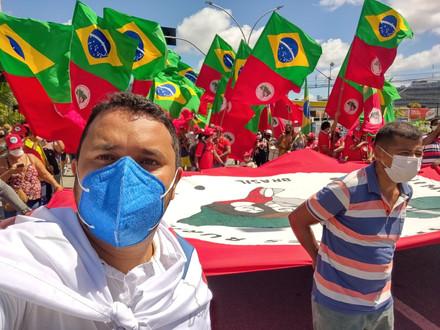SINDACS PE participa do ato unificado pelo #ForaBolsonaro