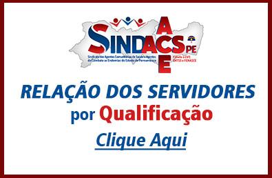 Sindacs PE Servidores por Qualificações