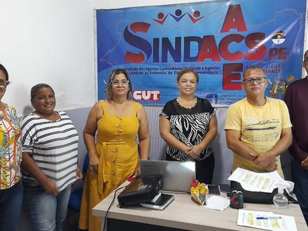 SINDACS-PE inova e atua em todo Estado por GERES