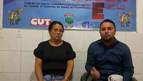 Live detalha homenagens aos filiados do SINDACS PE