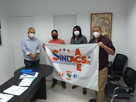 SINDACS PE e representantes da categoria estiveram em reunião com o município de Jaboatão