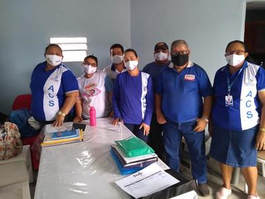 Representantes do SINDACS PE participam de reunião no município de Salgadinho