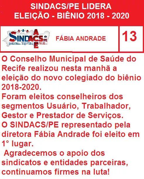 sindacs bienio 2018-2020