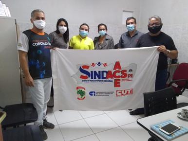 Diretores do SINDACS PE participam de reunião no município de Barra de Guabiraba