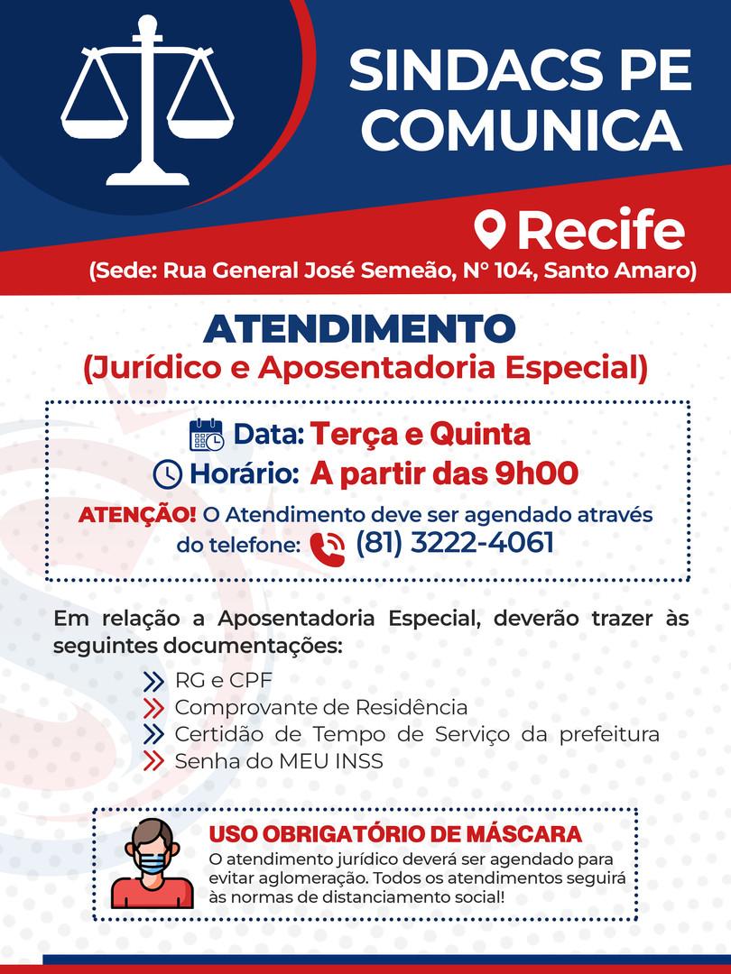 Plantão Jurídico - Recife/20