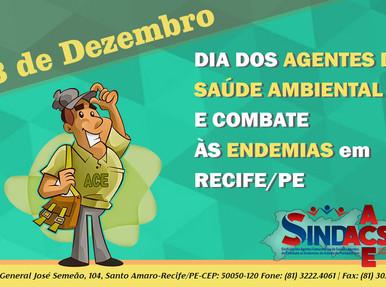 """Hoje (13/12), comemora-se o """"Dia do ASACE""""!"""
