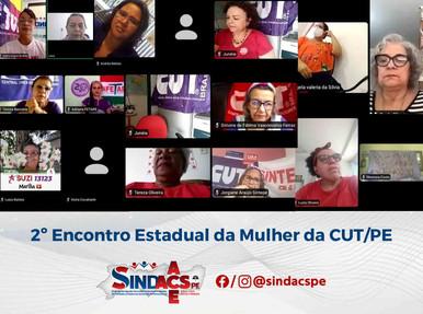 SINDACS PE participou do 2º Encontro Estadual da Mulher da CUT-PE