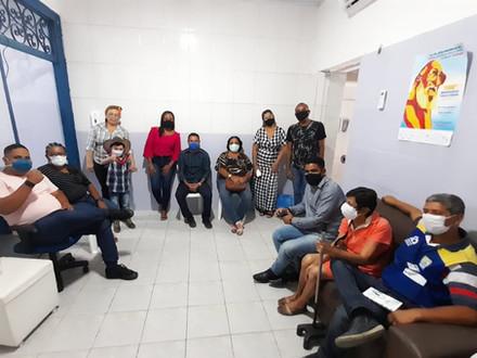 SINDACS PE recebe visita dos ACEs do município de Ipojuca