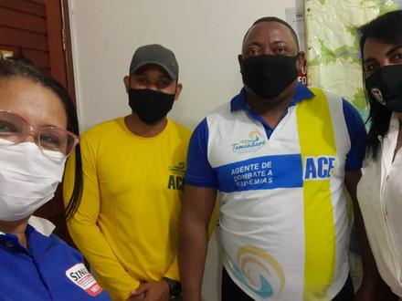SINDACS PE esteve no município de Tamandaré/PE para apresentação do HAPVIDA