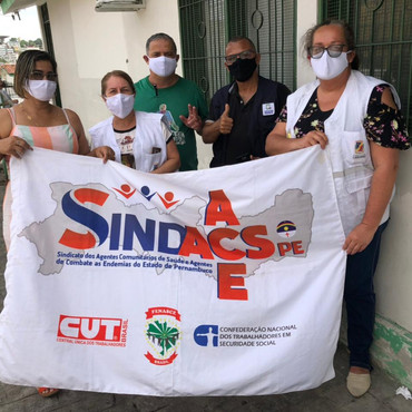 SINDACS PE visita unidades de saúde em Caruaru