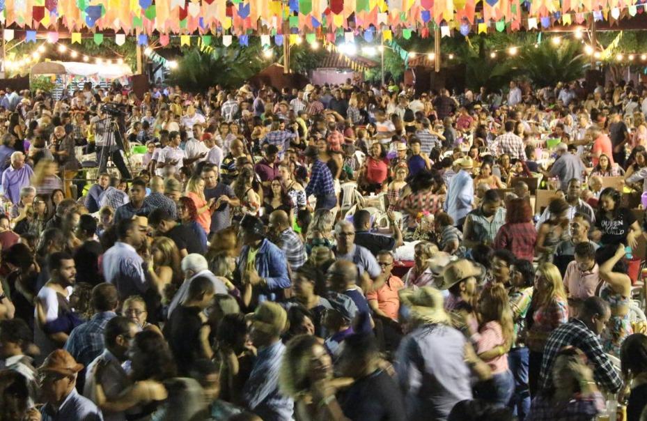 São João com grande festa, 02/06/2018 no Centro de Formação e Lazer (CFL).