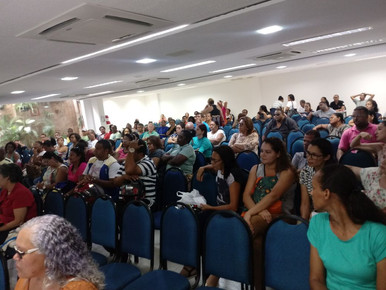 Nesta quarta (24), no Auditório do Sindsprev/PE foi realizada a Assembleia dos ACSs e ACEs do Recife