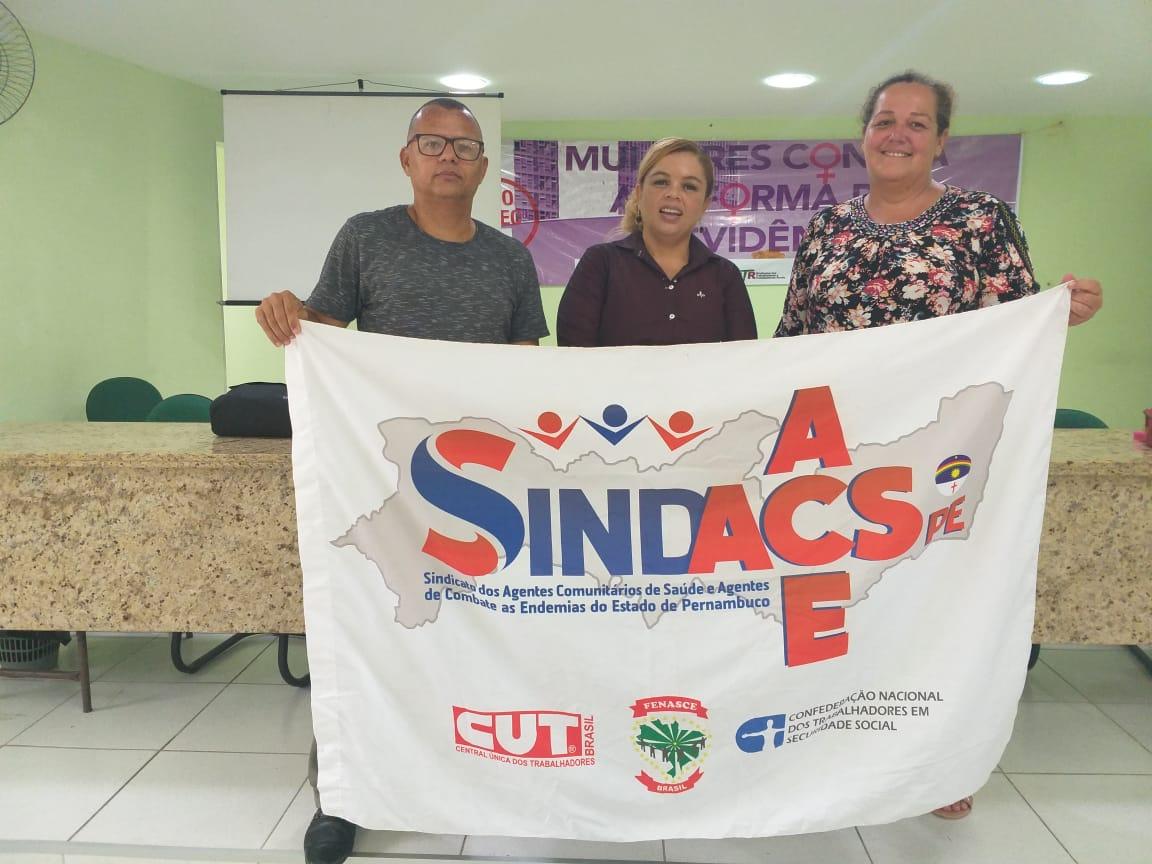 SINDACS em Caruaru/PE