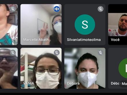 Representantes do SINDACS-PE participam de reunião online