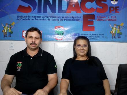 Diretor da FENASCE e Diretora de Comunicação e Divulgação participam de live desta terça-feira (25)