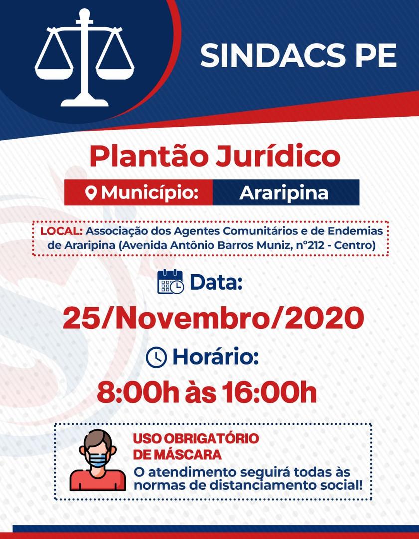 ARARIPINA - 25 NOVEMBRO