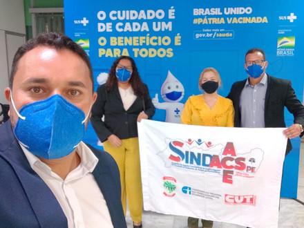 SINDACS PE e FENASCE em Brasília – DF