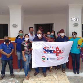 Representantes do SINDACS PE participam de reunião em Ibimirim