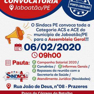 Convocatória Jaboatão