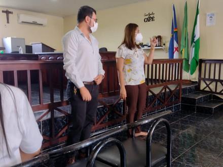 SINDACS PE esteve presente na cidade de Brejão