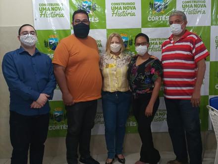 Diretor do SINDACS-PE Ricardo Alexandre participa de reunião em Cortês
