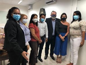 Diretoria do SINDACS PE esteve em Reunião com o Secretário de Saúde de Pernambuco, André longo