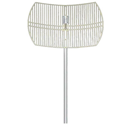 HW-DCGD24-24NF - 2.4-2.5GHz 24dBi Grid Dish Antenna