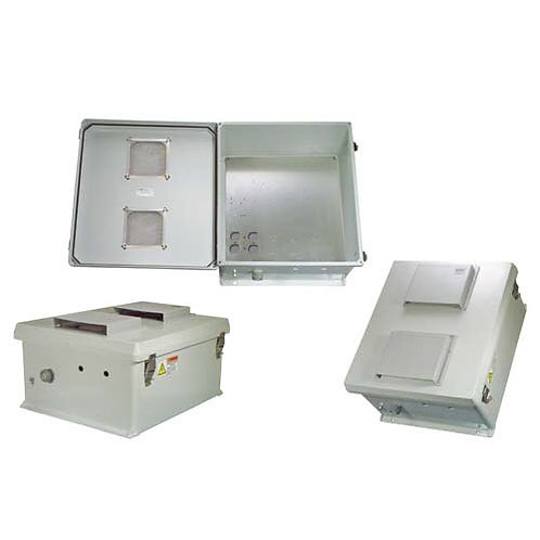 HW-N18-V - 18x16x8 Enclosure, MNT Plate, Vent